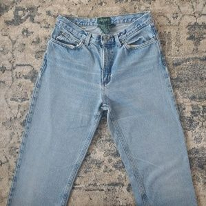 Vintage Ralph Lauren High Waisted Jeans